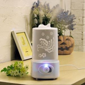 Ultrasonic humidifier essential oil diffuser